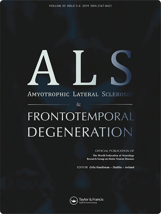 Amyotrophic Lateral Sclerosis & Frontotemporal Degeneration