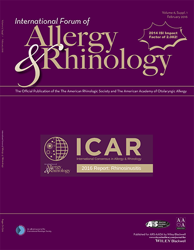 International Forum of Allergy and Rhinology