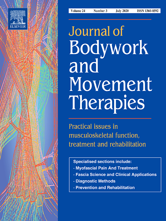 Journal of Bodywork and Movement Therapies