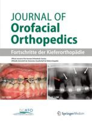 Journal of orofacial orthopedics