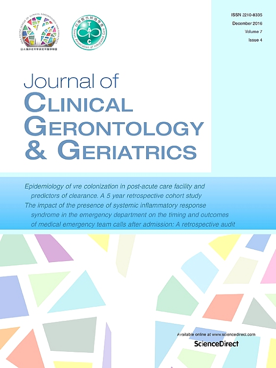 Journal of Clinical Gerontology and Geriatrics